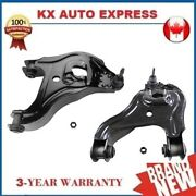 2x Front Lower Control Arm And Ball Joint Assembly Kit For Dodge Ram 2500 3500 Rwd