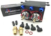 Twin Fuel Pumps 600lph Surge Tank An8 Kit Replaces Fits 044 1000hp Rated
