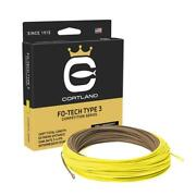 Cortland Competition Fo-tech Sink Fly Line
