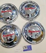 Maserati 1960and039s Set Of Hubcaps 3500 Sebring Qporte Restored