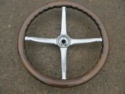 Restored Show Quality 1920's Walnut Steering Wheel Buick Olds Chevy Ford Stutz