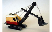 Bucyrus Erie 22 Excavator Shovel Kit 1/76 Oo By Langley Models