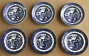 Johnson Brothers Willow Blue Ceramic Tableware England Different Sizes