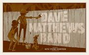 Dave Matthews Band Poster 2012 Louisville Kentucky Signed And Numbered /515 Rare