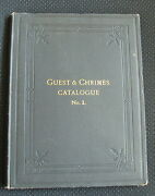 Guest And Chrimes Catalogue 1 Firefighting Antique Fire Extinguishing Tools 1889