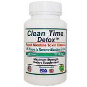 Nicotine Cleanse - Clean Time - Potent 2 Days To Remove Nicotine Toxins