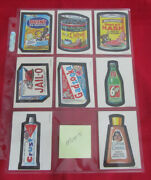 73 Wacky Packages Series 1 Opee Chee White Back Set @@ Super Rare @@ Minus 2