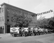 Photograph Of The Holmes Ford Bakery Delivery Trucks Washington Dc 1920 8x10