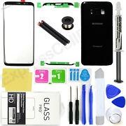 Front Screen Lens Back Glass Replacement Repair Kit For Samsung Galaxy S8/s8+