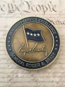 General Roger Brady 33rd Usafe Commander Air Forces In Europe Challenge Coin