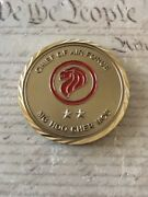 General Hoo Cher Mou 8th Chief Of Republic Of Singapore Air Force Challenge Coin