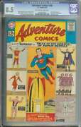 Adventure Comics 300 Cgc 8.5 Ow/wh Pages