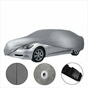 [cct] Breathable Semi-custom Fit Full Car Cover For Chevy Aveo [2002-2020]