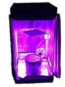 4 Site Hydroponic System Grow Room - Complete Grow Tent Kit Dwc - Led Grow Light