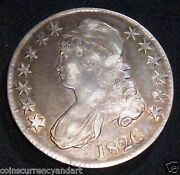 Early Halves 1826 50 Cents United States Capped Bust Half Dollar 1826
