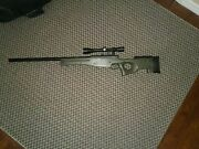Full Metal Bolt Action Airsoft Sniper 550 Fps 3x9x40 Scope