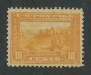 1913 Us Stamp 400 10c Mint Never Hinged Very Fine Og Panama-pacific Expo