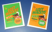 2011 Lost Wacky Packages 3rd Series Alternate Set 2 - Sealed Packs @@ Rare @@