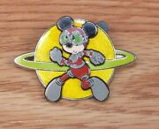 Genuine Disney 2006 Astronaut Mickey Mouse Official Trading Pin Only Read