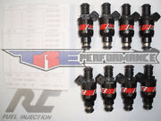 Rc 1000cc Flow Matched Fuel Injectors Fit Bmw 540i 740i M5 Z8 Bosch New