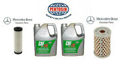 Mercedes S Cl Sl W215 W220 W230 R230 Abc Suspension Fluid And Filter Kit 10qts New