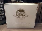Rrp Andpound1150 Harrods A1-grade Hungarian White Goose Down Duvet Emperor - 9 Tog