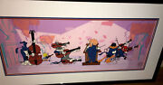 Warner Brothers Cel And Promo Quintet Bugs Bunny Daffy Rare Signed Chuck Jones