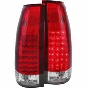 Anzo 311004 Led Tail Lights Red Clear G2 1992-1999 C1500 Suburban