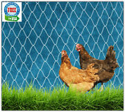 Poultry Netting 16and039 Game Bird Protective Plant 2 Net Chicken Quail Aviary Pens