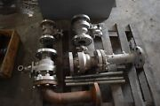 Miscellaneous Random Flanges And Valves Some With Stainless