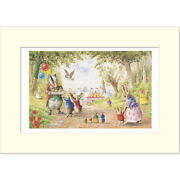 Going To The Fair - Racey Helps - Medici Mounted Print