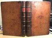 1719 Folio 2 Vols.prideaux's 'history Of The Jews' Bindings. Christian Theology.