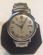 Vintage Helbros Invincible Wristwatch France 7 Jewels Unadjusted Hand Winding