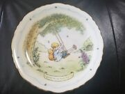 Rare Porcelain Vintage Classic Winnie The Pooh Collector Plate