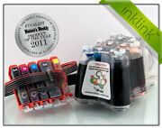 Rihac Ciss For Canon Mp630 Mp640 Pre-chipped For Cli-521 Pgi-520 Ink Cartridges