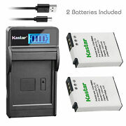 En-el12 Battery Or Lcd Charger For Nikon Coolpix S6300 S8000 S8100 S8100 S9050