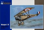 Special Hobby 1/48 Nieuport 10 Single Seater Version 48082