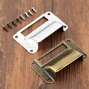 Archaistic Drawer Cabinet Frame Handle Label Tag Pull File Card Holder Hardware