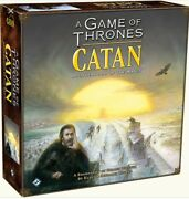 Catan - A Game Of Thrones Settlers Of Catan Brotherhood Of The Watch Board Game