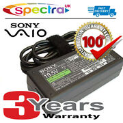 Genuine Original Sony Vaio Vgn-cr Vgn-cs Laptop Adapter Power Supply Cable For