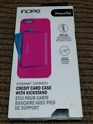 Incipio Stowaway - Advance Wallet Pink Case W/kickstand For Iphone 6s + / 6 Plus