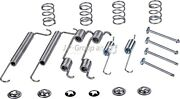 Jp Group New Brake Shoes Accessory Kit Fits Opel Astra F Classic Estate 1605985
