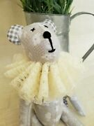 Handmade Bear Homemade Toy Handcrafted For Baby Soft Stuffed Premium Polyester