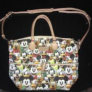Disney Dooney And Bourke Mickey And Friends Faces Fab 5