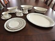 Lenox Windsong Fine China 12 Place Settings And Serving Pieces