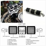 Motorcycle Bluetooth Audio Sound System Mp 3 Fm Radio Stereo Speakers Waterproof