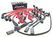Fits Rx8 Rx-8 Gm Ignition Coil Kit W/ Ngk Plugs / 10mm Wires / Bracket / Loom