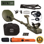 Garrett Atx Pulse Induction Metal Detector With Pro-pointer At Pinpointer