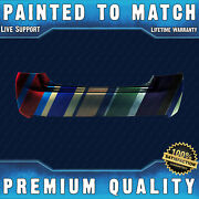 New Painted To Match Rear Bumper Cover Direct Fit For 2013-2015 Honda Accord 4dr