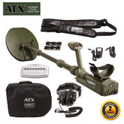 Atx Garrett Pulse Induction Metal Detector With 11x13 Mono Closed Searchcoil